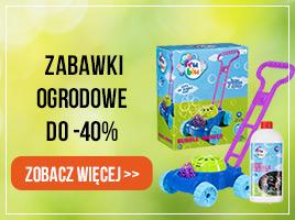 Zabawki ogrodowe do -40%