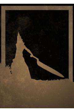 Dusk of Villains - Pyramid Head, Silent Hill - plakat
