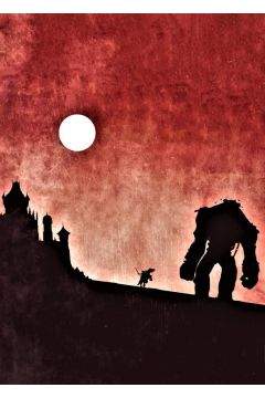 Shadow of the Colossus Vintage Poster - plakat