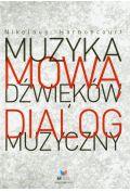 Muzyka mow� d�wi�k�w Dialog muzyczny
