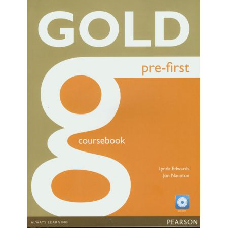 gold pre-first coursebook