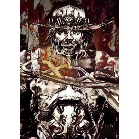 Legends of Bedlam - McCree, Overwatch - plakat