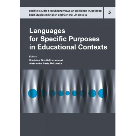 Languages for Specific Purposes in Educational Contexts