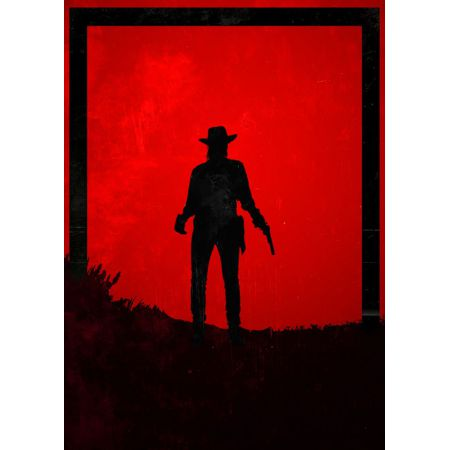 Dawn of Heroes - John Marston, Red Dead Redemption - plakat