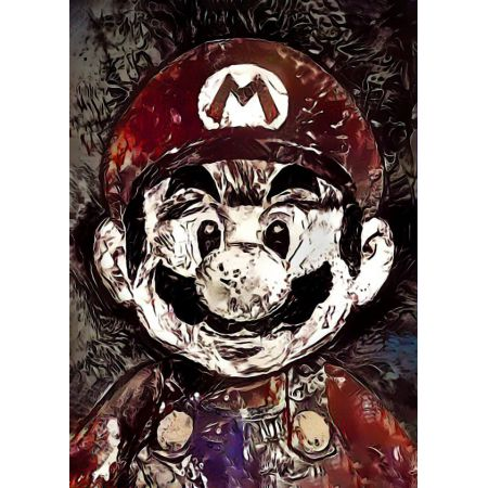 Legends of Bedlam - Mario, Nintendo - plakat