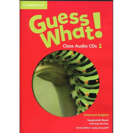 Guess What! Level 1 Class Audio CDs (3)