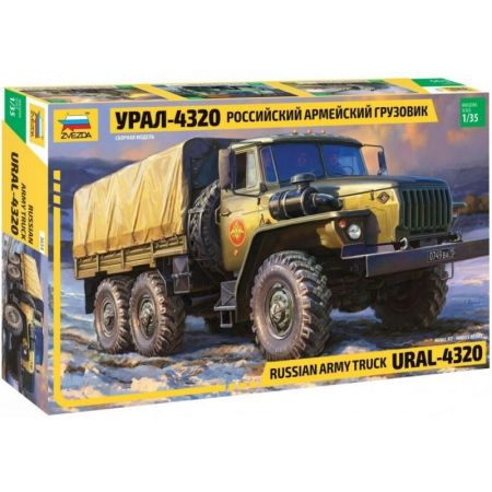 Ural 4320 Russian Army Truck
