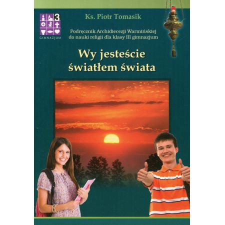 Znalezione obrazy dla zapytania Piotr Tomasik Wy jesteście światłem świata 3 gimnazjum