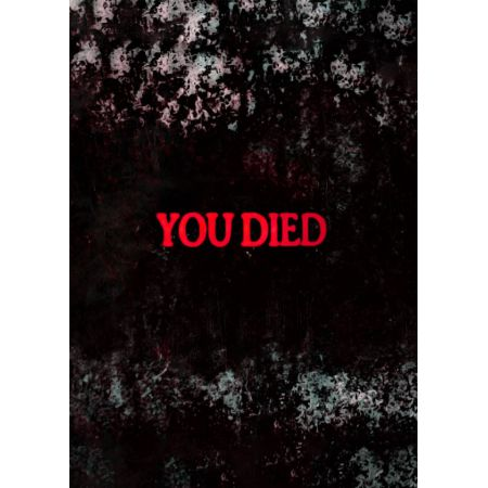 Dark Souls - YOU DIED - plakat