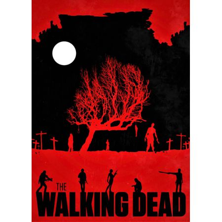 The Walking Dead Vintage Poster v2 - plakat