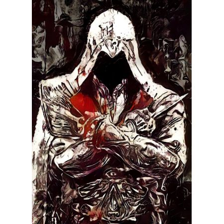 Legends of Bedlam - Ezio Auditore, Assassins Creed - plakat