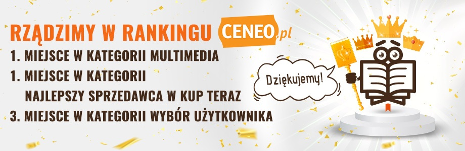 Ranking Ceneo 2019 - TaniaKsiazka.pl na podium!