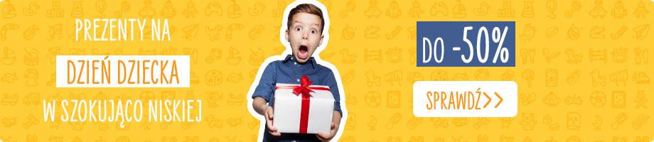 Sprawdź prezenty na Dzień Dziecka >