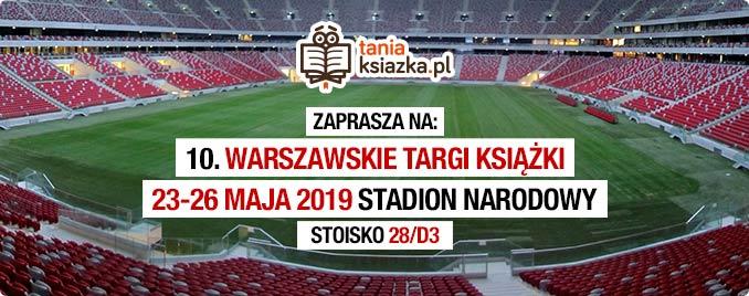 TaniaKsiazka.pl na 10. Warszawskich Targach Książki. Widzimy się?
