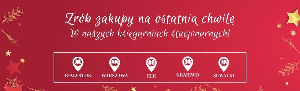 Odwiedź księgarnie stacjonarne TaniaKsiazka.pl