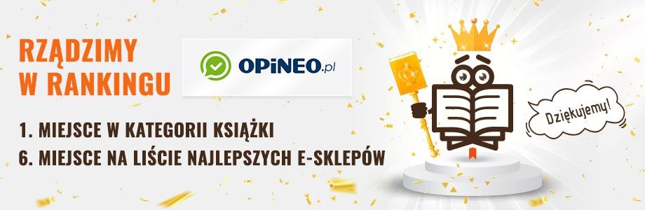 Ranking Opineo 2019 - 1. miejsce dla TaniaKsiazka.pl