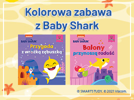 Kolorowa zabawa z Baby Shark