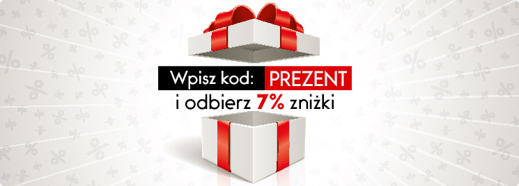 7% dodatkowej zniżki w prezencie w TaniaKsiazka.pl >>