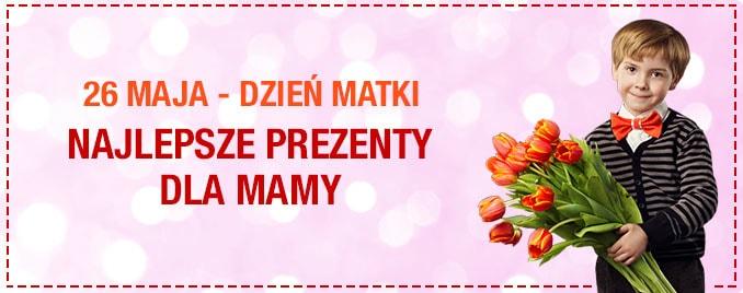 Propozycje prezentów na Dzień Matki
