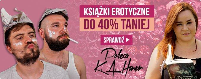 Książki erotyczne do 40% taniej w TaniaKsiazka.pl