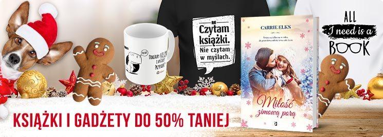 Książki i gadżety do 50% taniej w TaniaKsiazka.pl >>