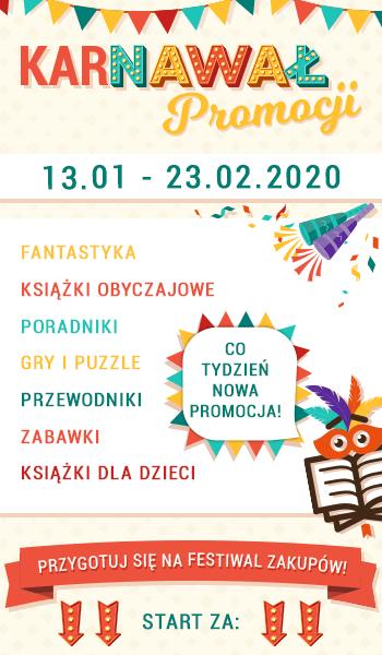 Karnawał promocji w TaniaKsiazka.pl