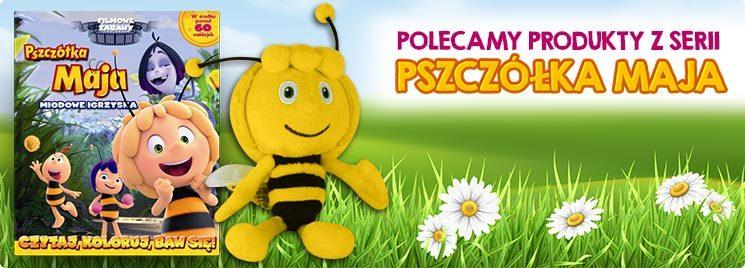 Polecamy produkty z serii Pszczółka Maja!