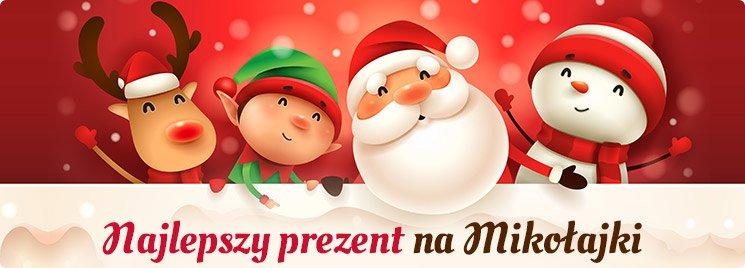 Najlepsze prezenty na Mikołajki