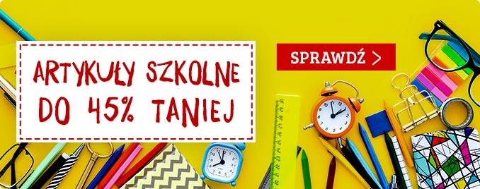 W TaniaKsiazka.pl wyprawkę szkolną skompletujesz taniej >>