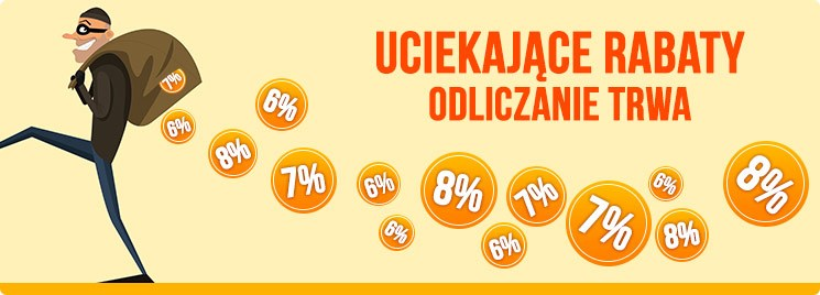 Uciekające rabaty w TaniaKsiazka.pl >>