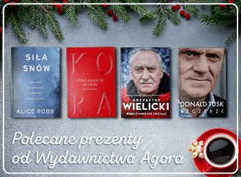 Książkowe prezenty od Wydawnictwa Agora >>
