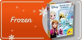 Seria Frozen. Sprawdź prezenty dla małych księżniczek >>