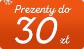 Sprawdź tanie prezenty świąteczne do 30 złotych >>