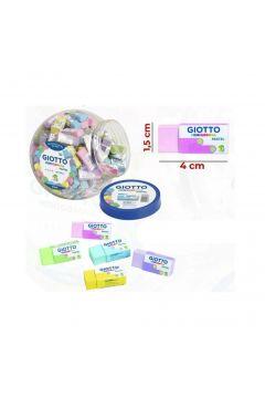 Mini gumki do mazania Pastel (120szt) GIOTTO