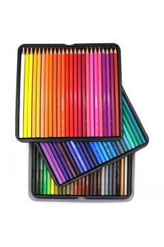 Kredki ołówkowe 72 kolory Staedtler metalowe pudełko