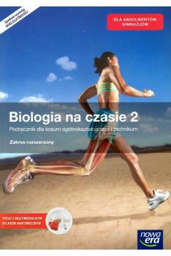 Biologia na czasie 2. Podręcznik dla liceum ogólnokształcącego i technikum. Zakres rozszerzony. Z dostępem do E-testów i Atlasem DVD. Szkoły ponadgimnazjalne