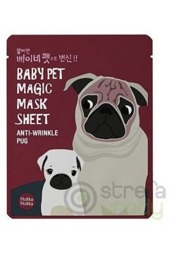Baby Pet Magic Mask Sheet Anti-Wrinkle Pug maseczka pielęgnacyjna do twarzy na bawełnianej płachcie