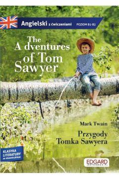Angielski z ćwiczeniami Przygody Tomka Sawyera