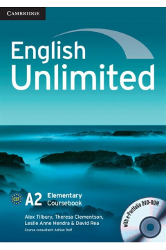 English Unlimited Elementary Coursebook with e-Portfolio DVD-ROM