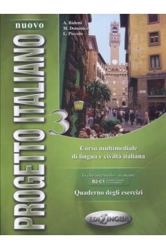 Progetto Italiano Nuovo 3 ćwiczenia