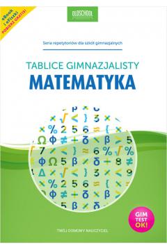 Matematyka Tablice gimnazjalisty