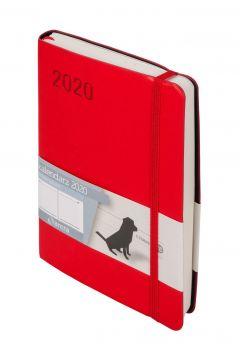Kalendarz 2020 Minimalizm B6 Czerwony DNS ANTRA