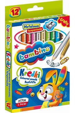 Kredki ołówkowe Bambino