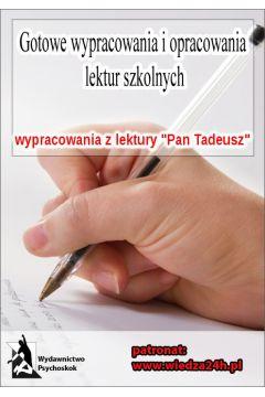 Wypracowania. Adam Mickiewicz