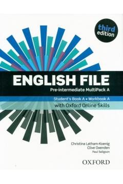 English File 3E Pre-Intermed. Multipack A + online