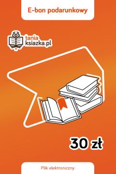 TanioKsiążkowy e-Bon Podarunkowy 30 zł - e-voucher prezentowy o wartości 30 zł