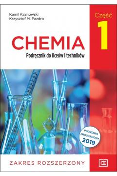Chemia 1. Podręcznik do liceów i techników. Zakres rozszerzony