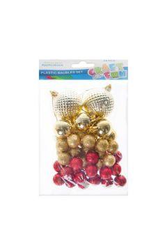 Ozdoba dekoracyjna styropian/plastikowa Bombka Boże Narodzenie 463628