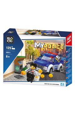 BLOCKI MyPolice 125 elementy Napad KB0611