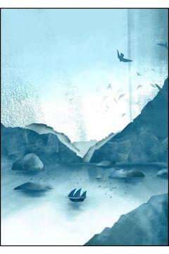 Wzgórza, Statek - plakat
